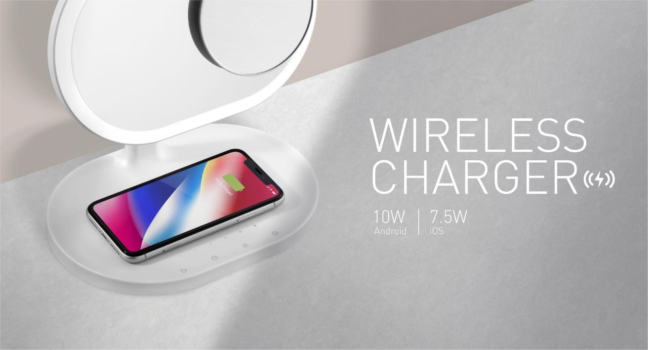 Wireless Charger 10W for Android and 7.5W for iOS
