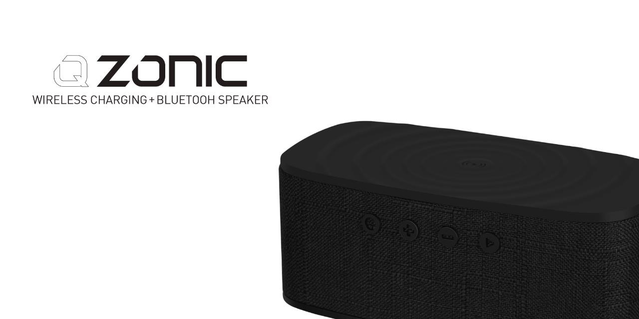 Q.ZONIC Wireless Charging with Bluetooth Speaker