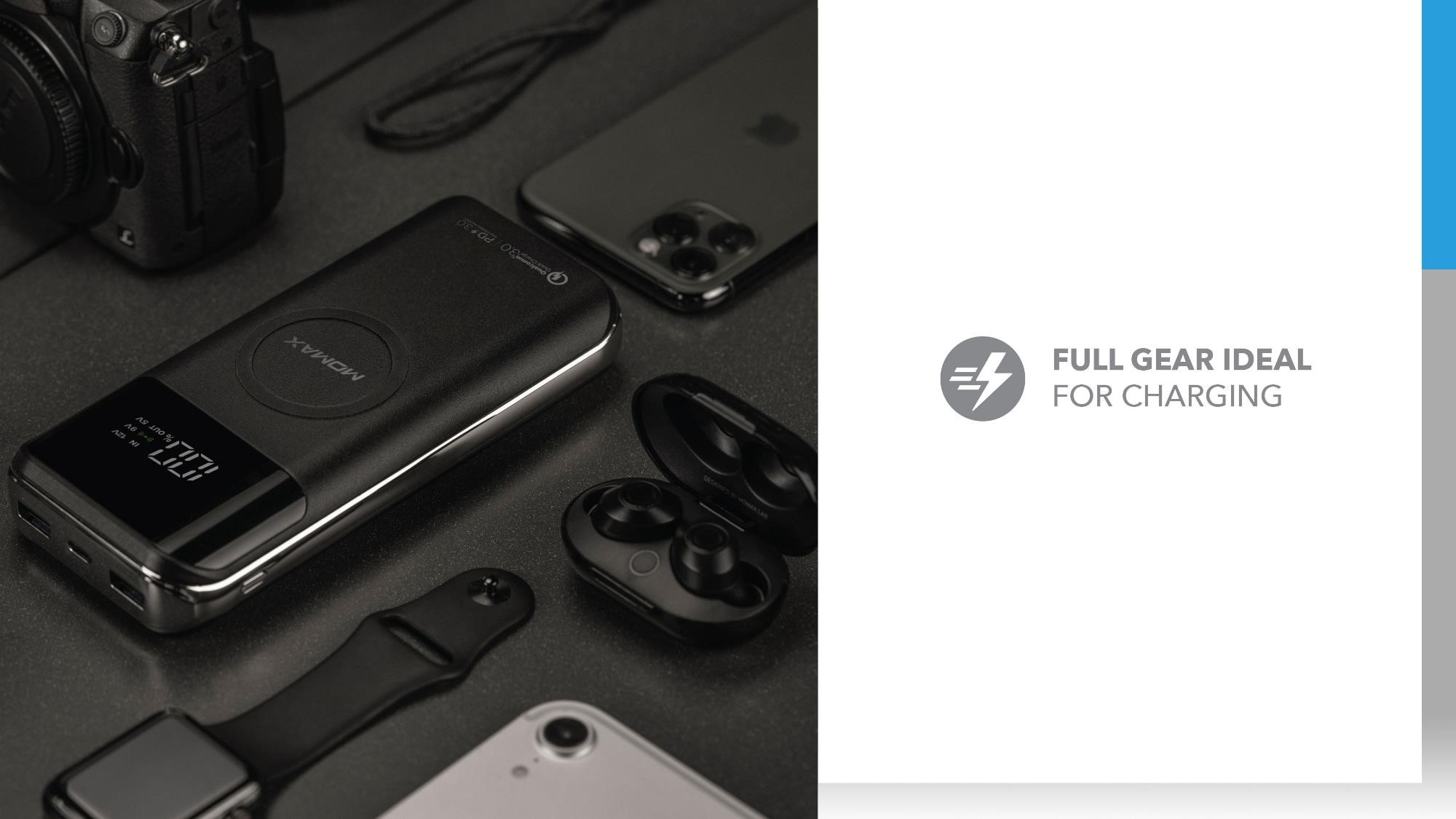 Q.Power Air 2+ Wireless External Battery Pack: Full Gear Ideal for Charging