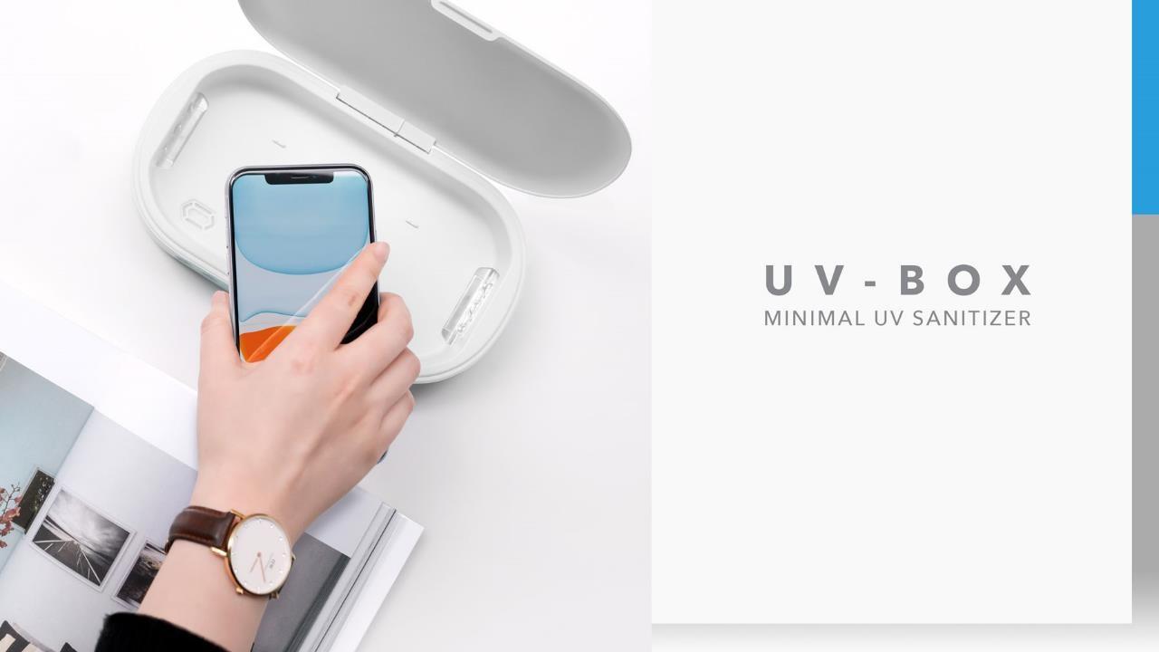 UV Box Minimal UV Sanitiser