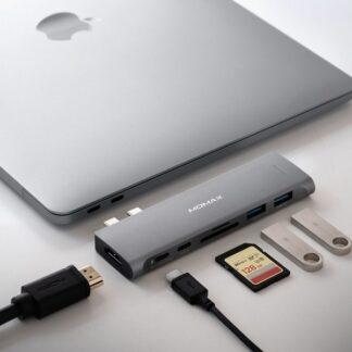 One Link 7-in-1 Dual USB-C Hub