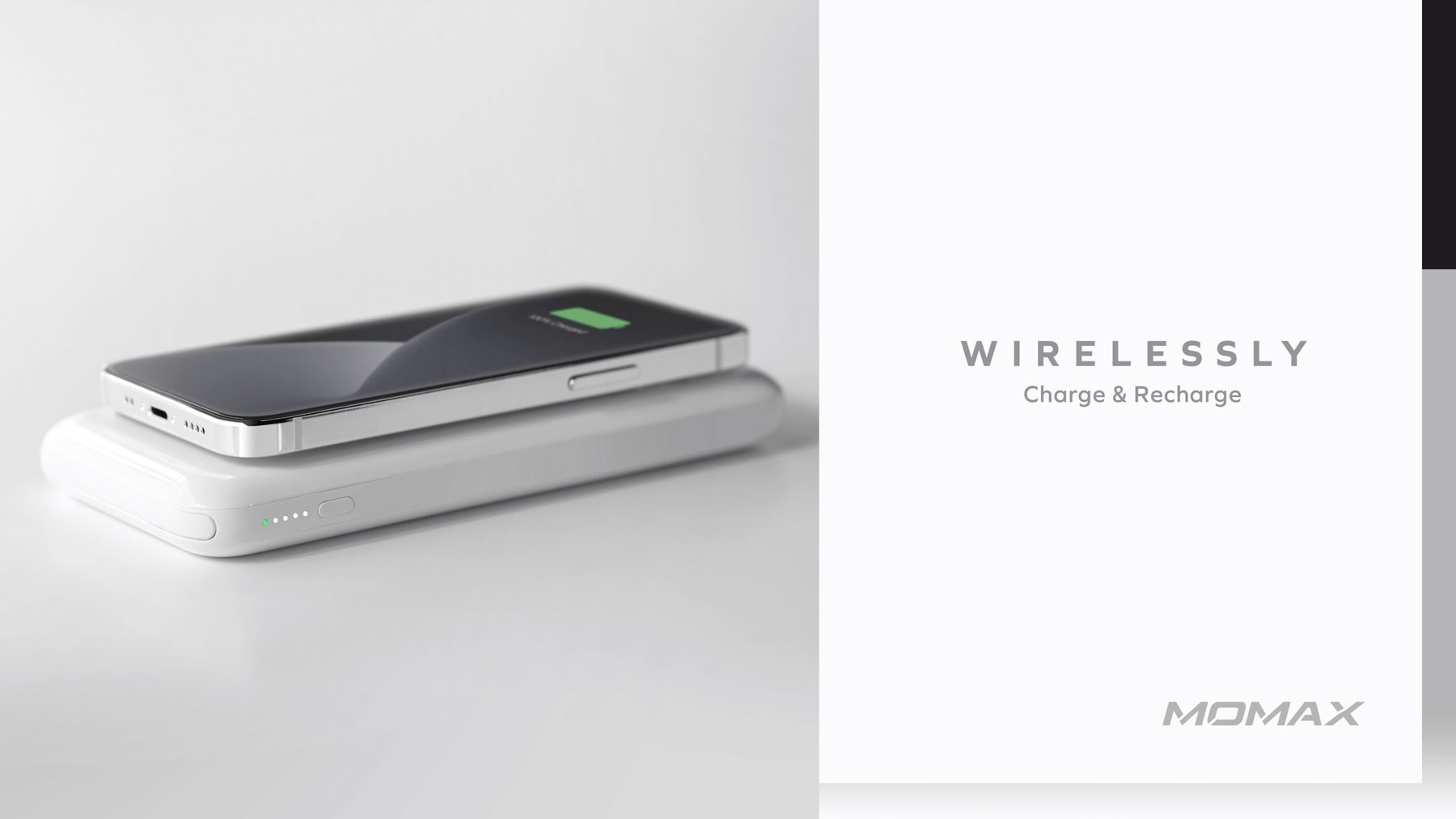 Momax Q. Power One Dual Wireless External Battery Pack: Wirelessly Charge and Recharge